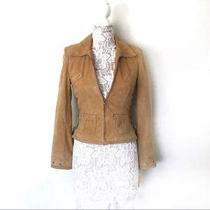 Abandon Italian Leather Jacket 100% Leather Small